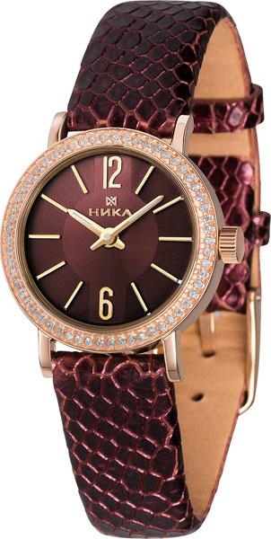 Российские золотые наручные часы Ника 0102A.2.1.64A