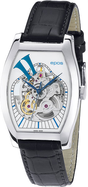 Швейцарские механические наручные часы Epos 3359.32.334.17
