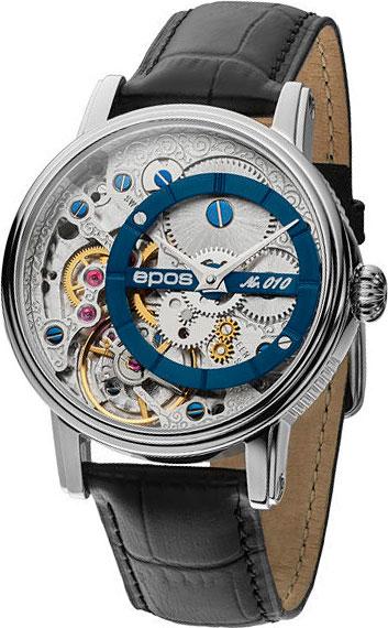 Швейцарские механические наручные часы Epos 3435.313.20.16.25