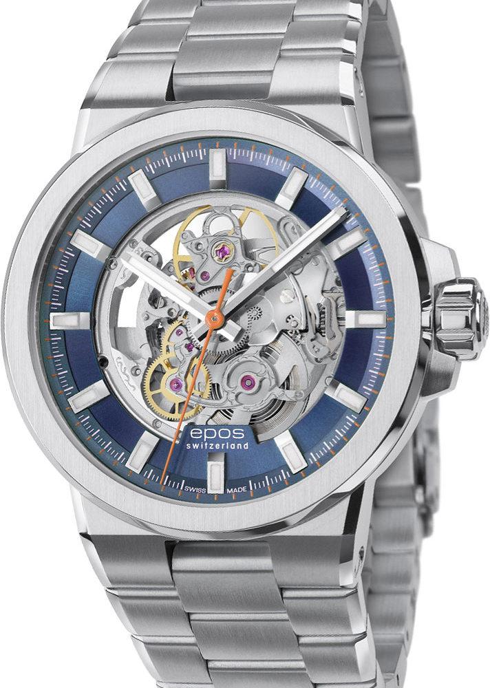 Швейцарские механические наручные часы Epos 3442.135.20.16.30
