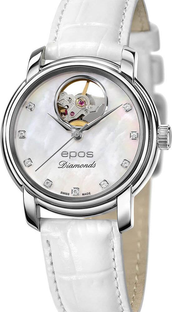 Швейцарские механические наручные часы Epos 4314.133.20.80.10