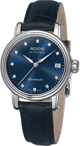 Швейцарские механические наручные часы Epos 4390.152.20.86.16