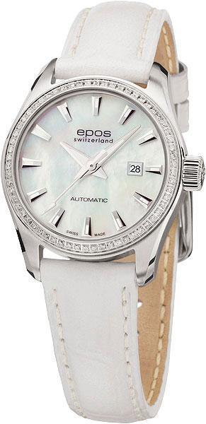 Швейцарские механические наручные часы Epos 4401.122.29.18.10