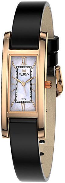 Российские золотые наручные часы Ника 0445.0.1.31