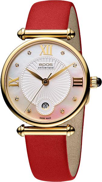 Швейцарские наручные часы Epos 8000.700.22.88.88