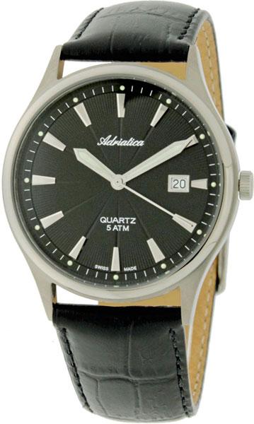 Швейцарские титановые наручные часы Adriatica A1171.4214Q