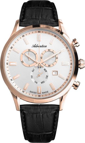 Швейцарские наручные часы Adriatica A8150.9213CH с хронографом