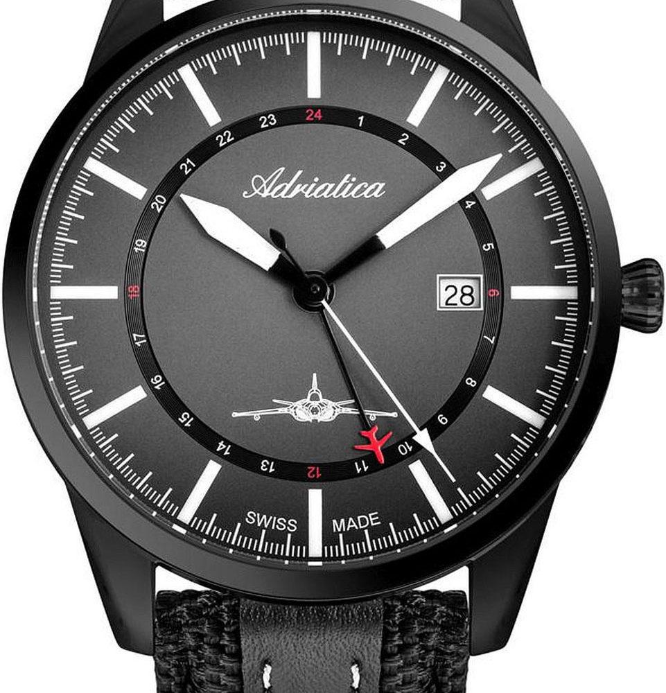 Швейцарские наручные часы Adriatica A8186.B217Q