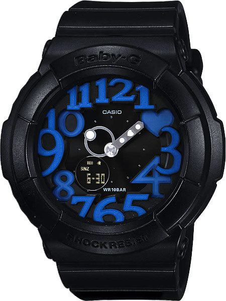 Японские наручные часы Casio Baby-G BGA-134-1B с хронографом