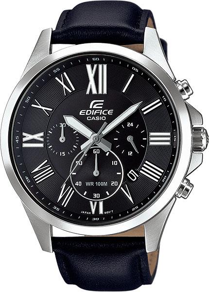 Японские наручные часы Casio Edifice EFV-500L-1A с хронографом