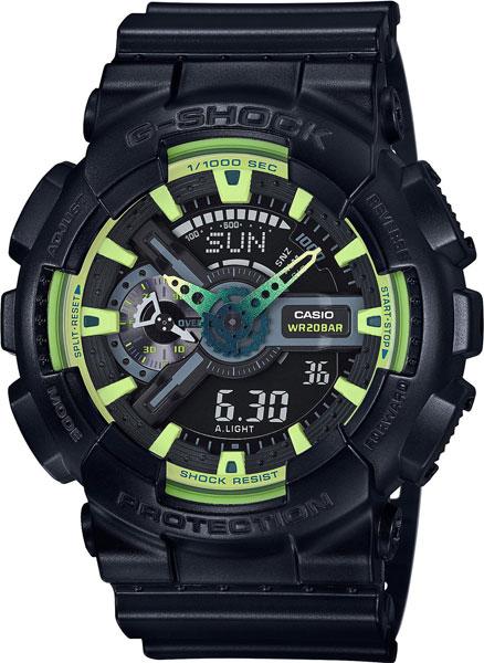 Японские наручные часы Casio G-SHOCK GA-110LY-1A с хронографом