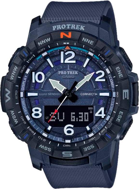 Японские наручные часы Casio Pro Trek PRT-B50-2ER с хронографом