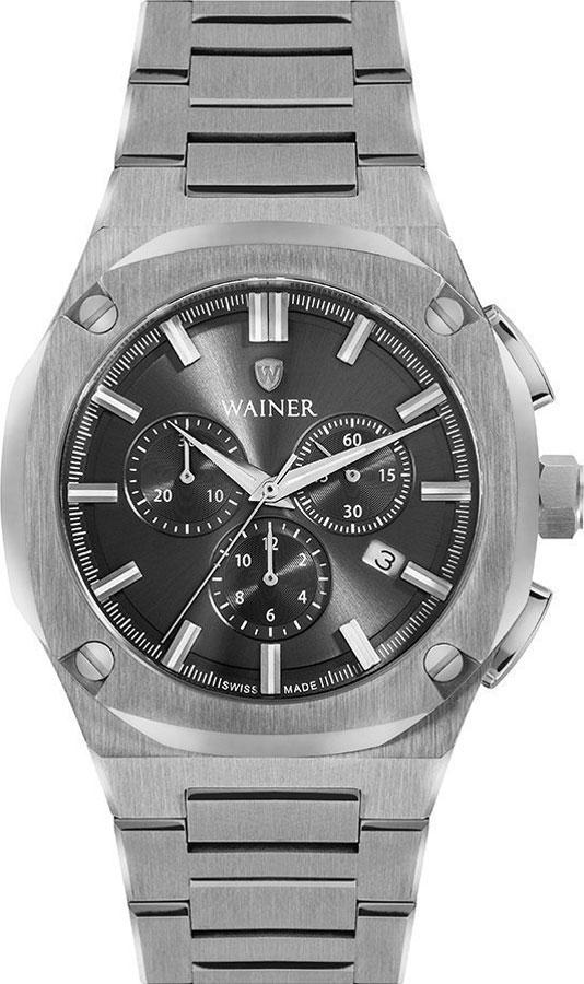 Швейцарские наручные часы Wainer WA.10000-B с хронографом