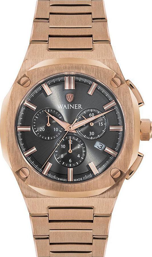 Швейцарские наручные часы Wainer WA.10000-D с хронографом