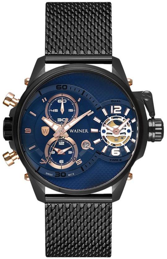 Швейцарские наручные часы Wainer WA.10882-C с хронографом