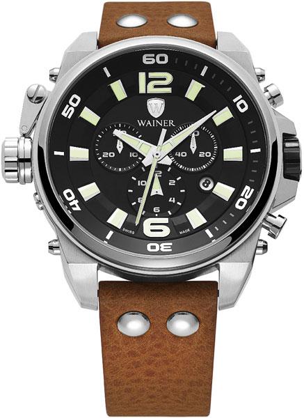 Швейцарские наручные часы Wainer WA.10980-E с хронографом
