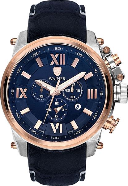 Швейцарские наручные часы Wainer WA.10991-D с хронографом