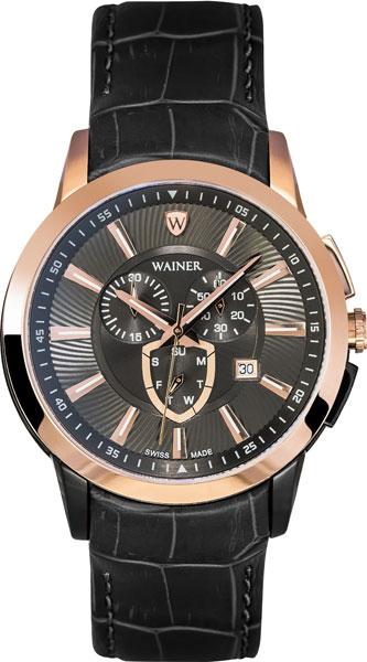 Швейцарские наручные часы Wainer WA.16571-C с хронографом