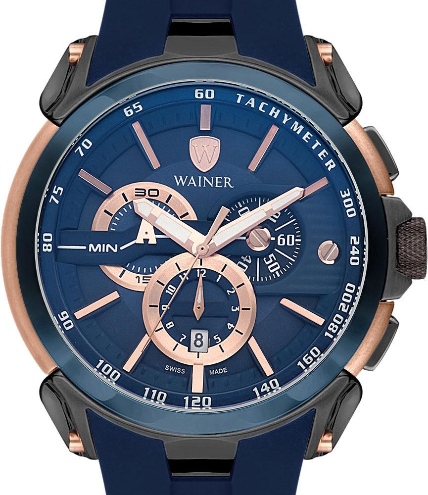 Швейцарские наручные часы Wainer WA.16910-C с хронографом