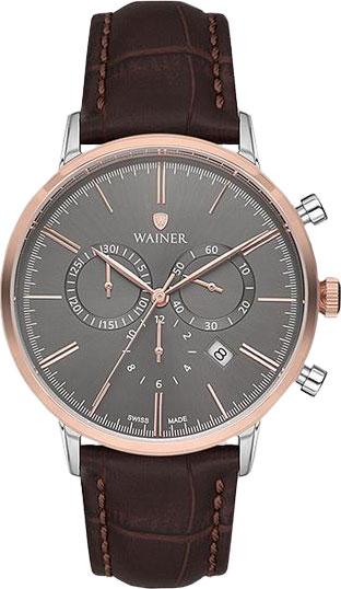 Швейцарские наручные часы Wainer WA.19211-E с хронографом