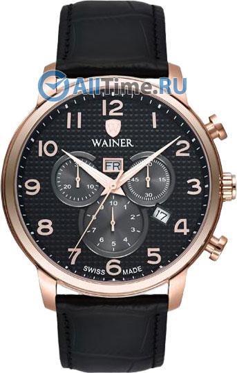 Швейцарские наручные часы Wainer WA.19410-D с хронографом
